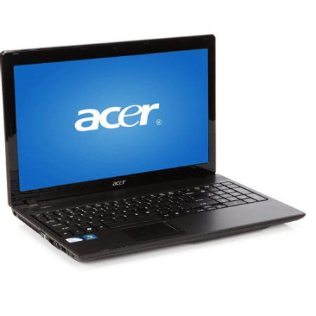 Laptop Acer Intel Celeron acer black 15 6 quot aspire as5336 2524 laptop pc with intel celeron 900 processor windows 7 home