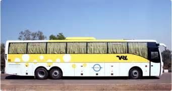 Bangalore To Hyderabad Volvo Vrl Travels Vrl Travels Booking Get Upto Rs
