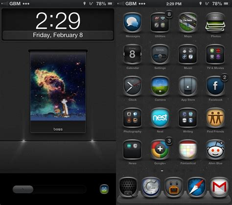 Top Black Themes Cydia | best cydia themes ios 6 winterboard themes for the iphone