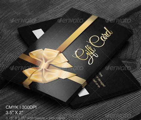 gift card template 13 free printable word pdf psd