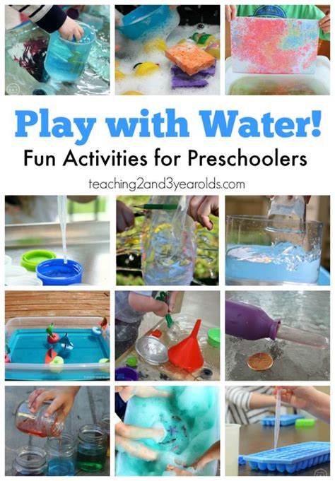 libro fun learning activities for water activities for preschoolers water activities activities for preschoolers and 3 years