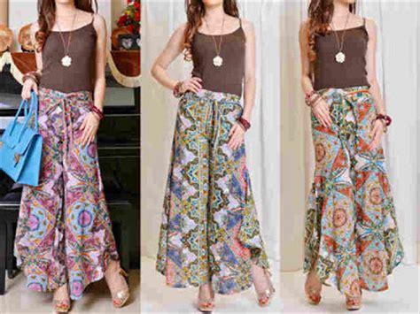 Oz Nifti Blouse Baju Atasan Wanita Pakaian Wanita Promo aneka model celana kulot motif batik terbaru untuk remaja