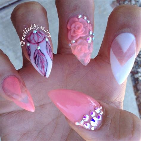 acrylic paint and nail 47 tremendous 3d acrylic paint nail design ideas