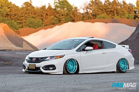 tuner honda civic pasmag performance auto and sound artistic form choi
