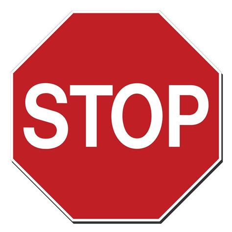Stop X lynch sign 18 in x 18 in octagon stop sign printed on more durable thicker longer lasting
