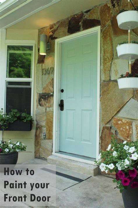 how to paint your front door how to paint an exterior door as in shut the front door