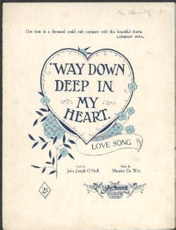 love themes down way down deep in my heart music love theme