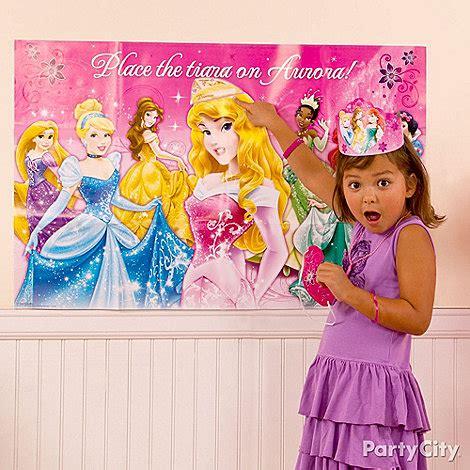 princess themed party games disney princess birthday party ideas party city