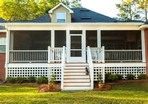 Backyard Porches Coolest Country Porches Modernize
