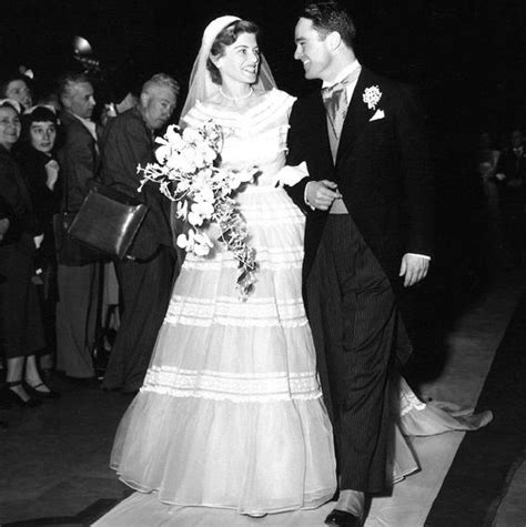 eunice kennedy and sargent shriver on their wedding day
