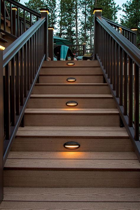 outdoor led deck lighting best 25 deck lighting ideas on outdoor deck