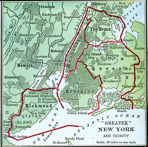 map of greater new york greater new york city