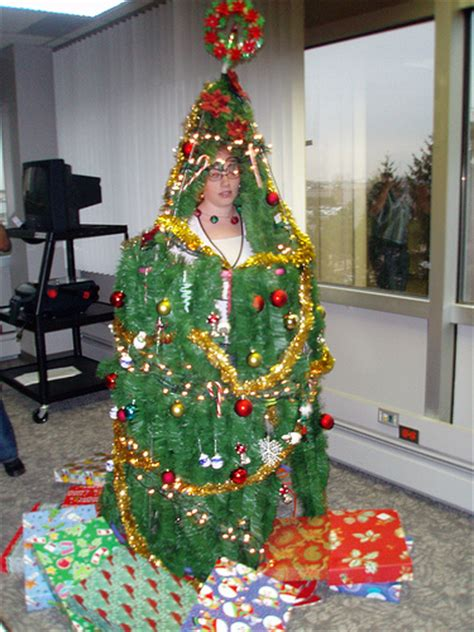 the winner of the human christmas tree contest flickr