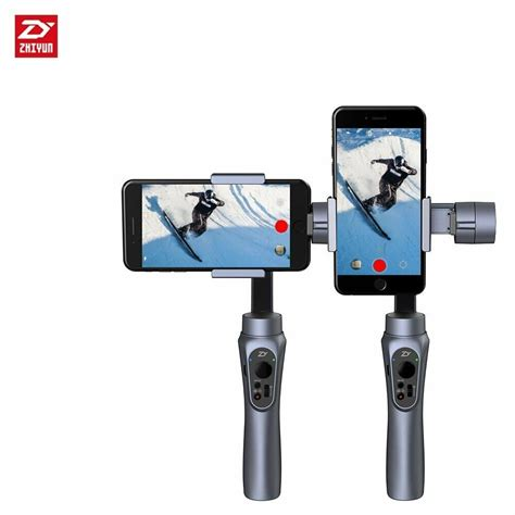 iphone gimbal zhiyun smooth q 3 axis handheld gimbal stabilizer for smartphone iphone samsung ebay