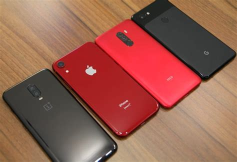 blind comparison iphone xr vs pixel 3 vs oneplus 6t vs pocophone f1
