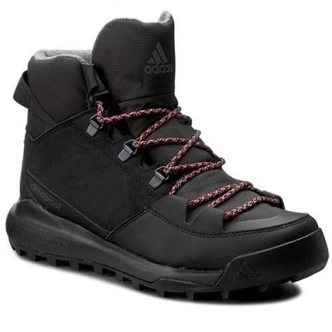 adidas mens performance cw revolution c shoes adidas cw winterpitch mid cp aq6571 cblack scarle