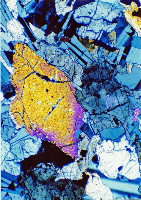 forsterite thin section 17 best images about thin sections on pinterest i spy