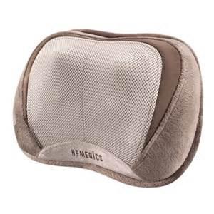 homedics homedics 3d shiatsu select pillow