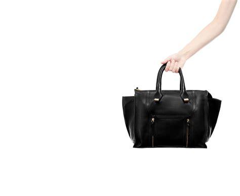 Pocket Zara Black zara leather city bag with pocket and zips in black lyst