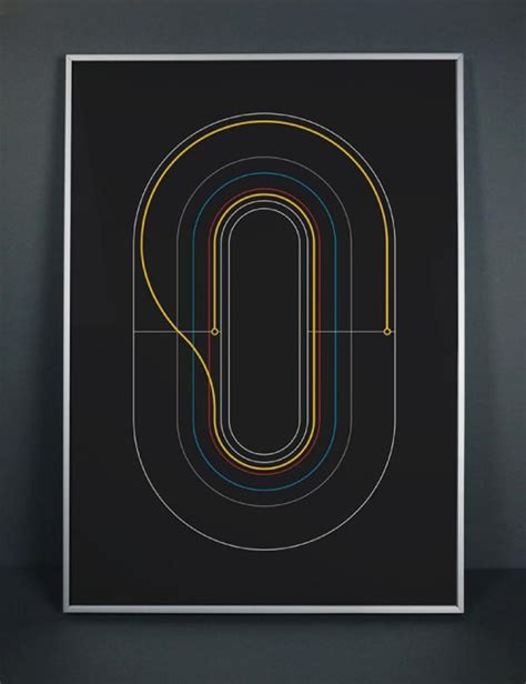 minimalist graphic design minimalist graphic cycling posters by graphical house