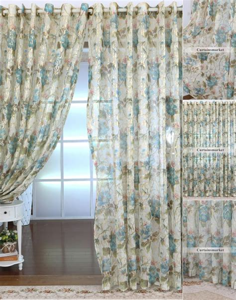 sheer curtains for bay window floral custom made sheer curtains adorable for bay window