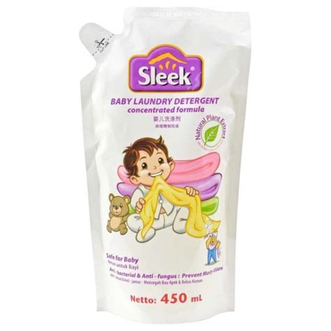 Sleek Baby Laundry Refill 450ml by Jual Sleek Baby Laundry Detergent Sabun Pencuci Baju