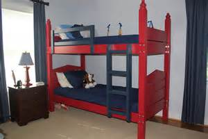 Maine Bunk Beds by White Bunk Beds With A Maine Cottage Twist Diy