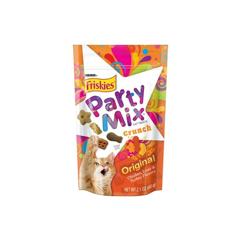 petco treats friskies original crunch mix cat treats petco