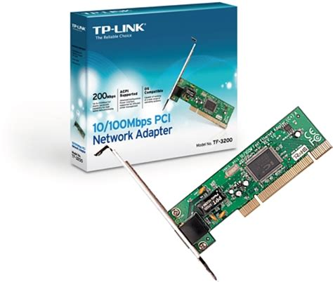Pci Network Adapter Tp Link Tf 3200 10 100mbps tp link tf 3200 10 100m lan card price in laptop egprices