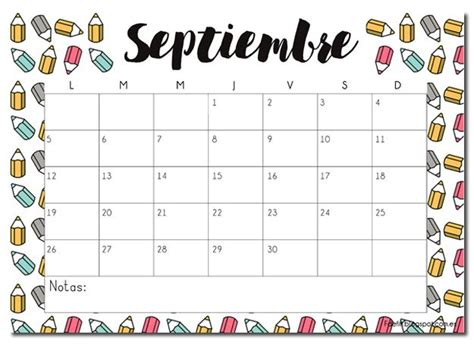 best 25 calendario septiembre ideas on