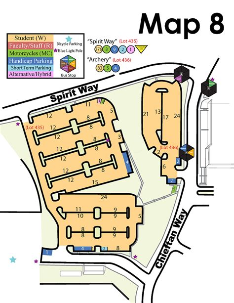 fsu cus map tenth annual ser cat symposium maps parking fsu