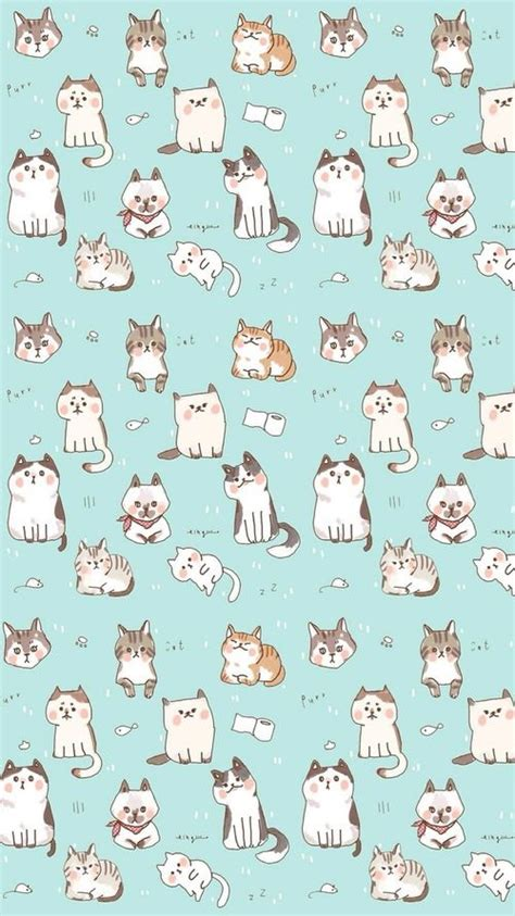 android pattern finder kawaii cat find more funky patterns for your iphone