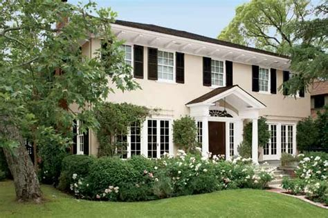 paint color ideas for colonial revival houses beautiful