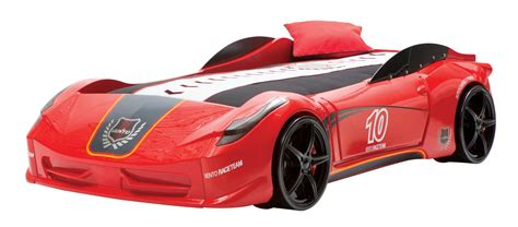 childrens car bed newjoy v8 vento race car bed