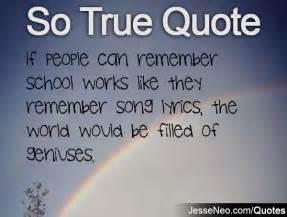 lol so true quotes about school quotesgram