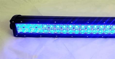 rgb led light bar 50 quot 300w color changing led lights