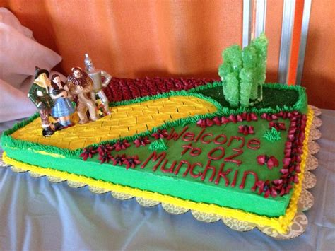 Wizard Of Oz Baby Shower by Wizard Of Oz Baby Shower Cake Wizard Of Oz