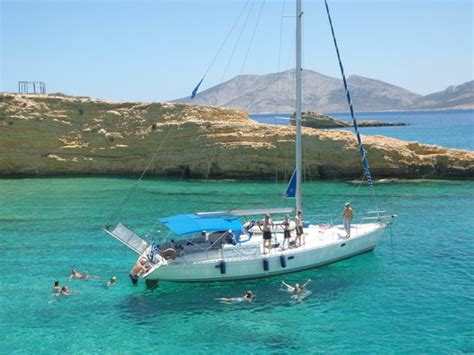 sailing boat naxos sailing boat trip to small cyclades review of captain