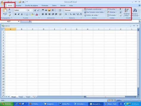 barra superior excel inform 193 tica para la administraci 211 n barras de