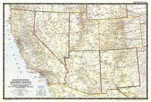 southwest united states map laminatoff