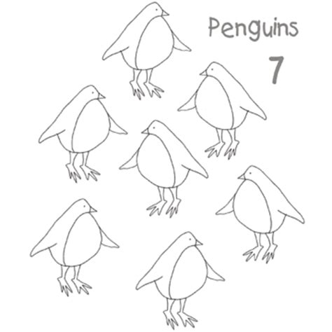 royal penguin coloring page color by number and more printable coloring pages
