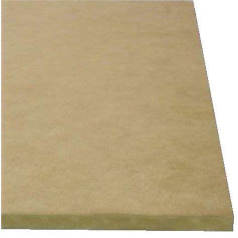 Fiber Board medium density fiberboard common 3 4 in x 2 ft x 4 ft
