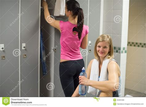 womens locker room sport in s locker room stock photo image 40491090