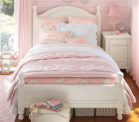 cute bed frames cute pink poterry barn teen room design gallery with