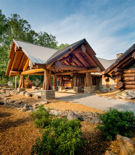 Small Homes Kits Columbia Pioneer Log Homes Log Cabins The Timber