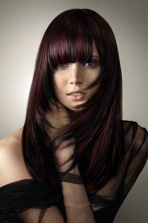 dark brown hair color with red tint brown purple hair color when is red brown hair color a good choice