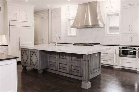 distressed island kitchen gray distressed kitchen island quicua com