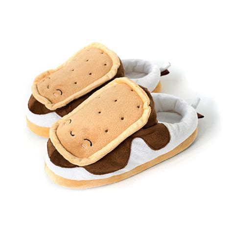 food slippers shoes smores food slippers s more s mores