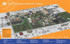 Buffalo State Campus Map by Buffalo State College Images
