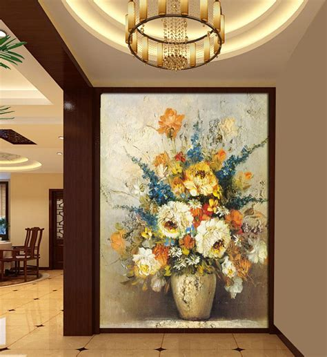 euro home decor 80x160cm size entrance corridor for painting mural tv